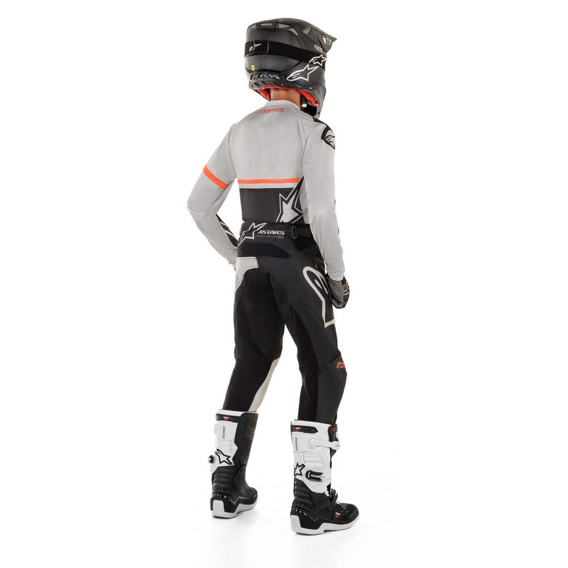 Alpinestars enfant racer compass light gray black b