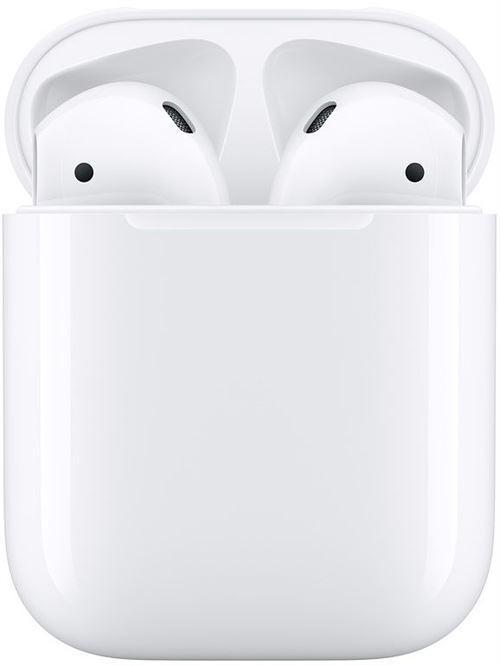 Apple airpods 2 boitier de charge ecouteurs sans fil true wirele