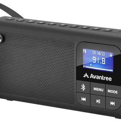 Avantree radio fm lecteur audio micro sd