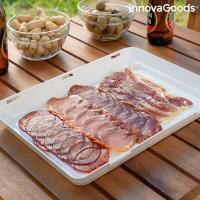 Bandejas para alimentos reutilizables vacpack innovagoods pack de 2 119431 2