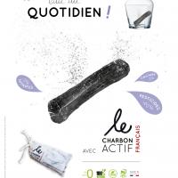 Baton de charbon actif france x1 2