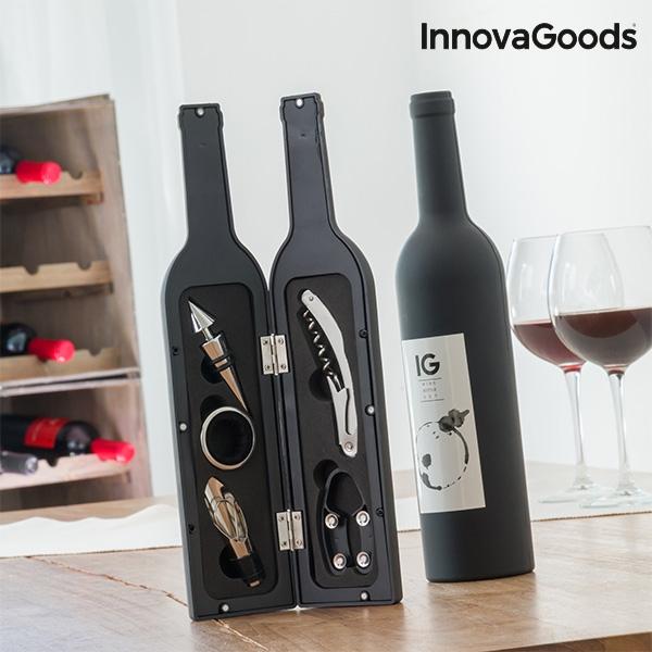 Boite a bouteille de vin innovagoods 5 pieces