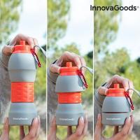 Botella plegable de silicona innovagoods 1