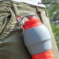 Botella plegable de silicona innovagoods 3