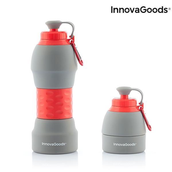 Botella plegable de silicona innovagoods 5