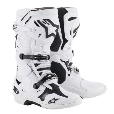 Bottes motocross alpinestars tech 10 white al2010019 20