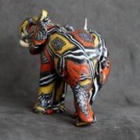Bougie artisanales elephant 1