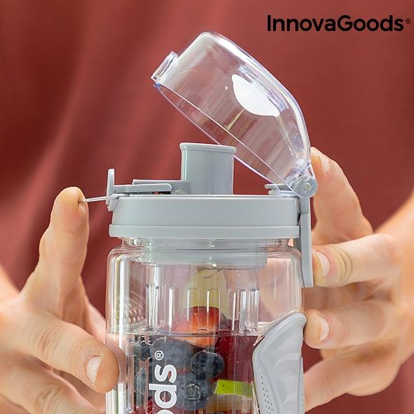 Bouteille de sport avec filtre infuseur xl infruitssion innovagoods