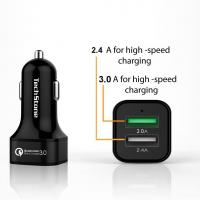 Chargeur allume cigare double usb 1
