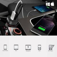 Chargeur allume cigare double usb 4