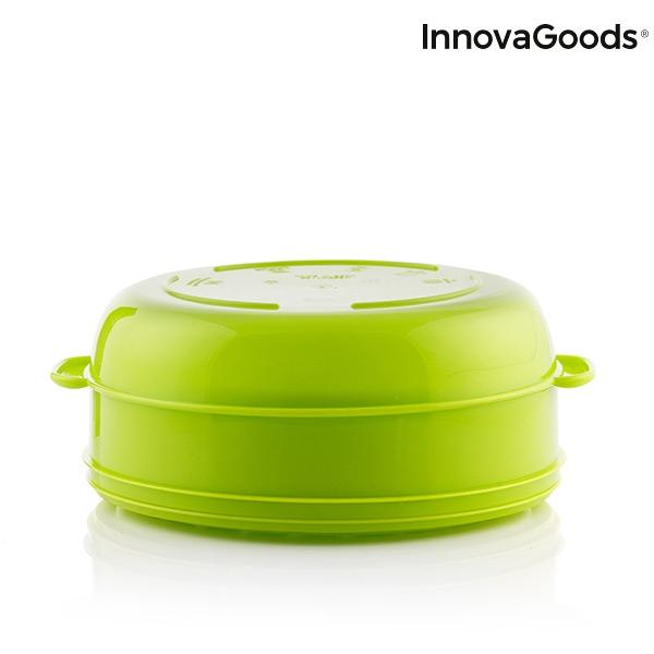 Cuiseur vapeur double pour micro ondes fresh innovagoods5