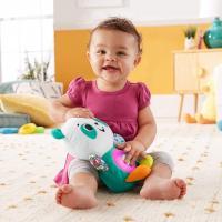 Fisher price linkimals andrea le panda peluche bebe interactive d apprentissage jouet sons et lumieres 1