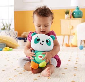 Fisher price linkimals andrea le panda peluche bebe interactive d apprentissage jouet sons et lumieres 3
