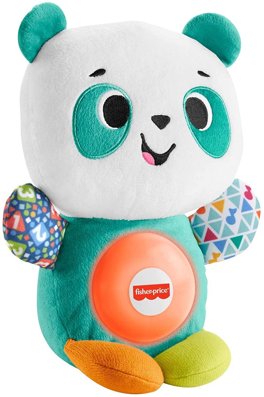 Fisher price linkimals andrea le panda peluche bebe interactive d apprentissage jouet sons et lumieres 4