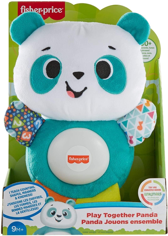 Fisher price linkimals andrea le panda peluche bebe interactive d apprentissage jouet sons et lumieres 7