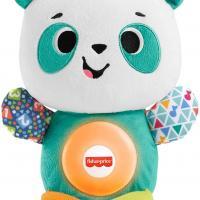 Fisher price linkimals andrea le panda peluche bebe interactive d apprentissage jouet sons et lumieres