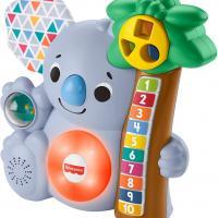 Fisher price linkimals nicolas le koala jouet bebe interactif d apprentissage sons et lumieres version francaise 2