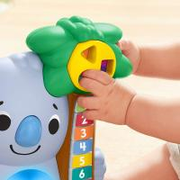 Fisher price linkimals nicolas le koala jouet bebe interactif d apprentissage sons et lumieres version francaise 5