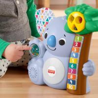 Fisher price linkimals nicolas le koala jouet bebe interactif d apprentissage sons et lumieres version francaise 7