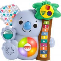 Fisher price linkimals nicolas le koala jouet bebe interactif d apprentissage sons et lumieres version francaise