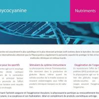 Info phycocyanine 2