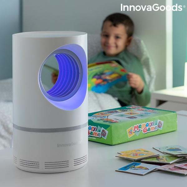 Lampe anti moustiques aspiration vortex innovagoods 2