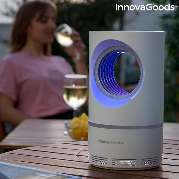 Lampe anti moustiques aspiration vortex innovagoods 3
