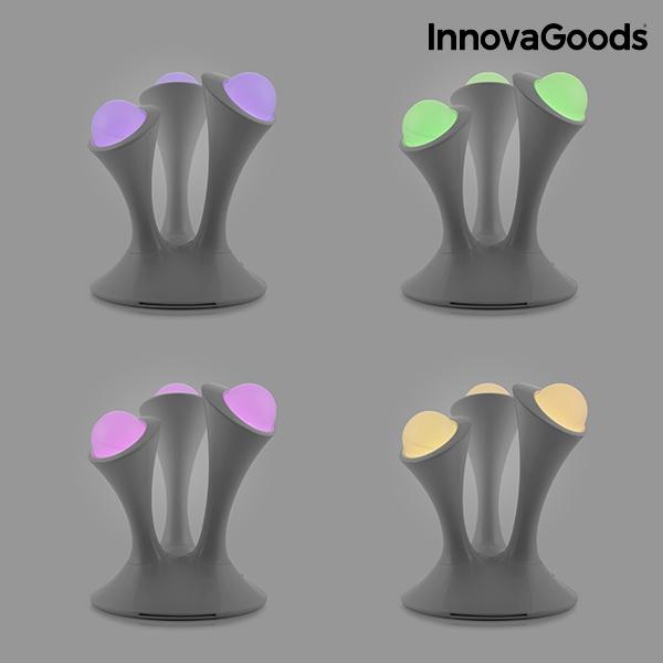 Lampe led fluorescente multicolore innovagoods3
