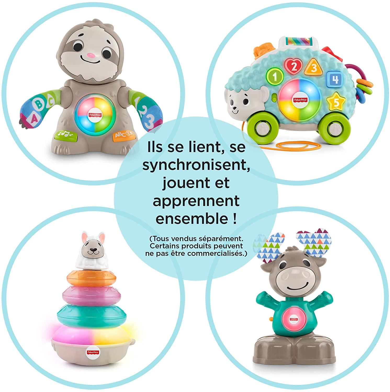 Linkimals louison le herisson jouet interactif 4