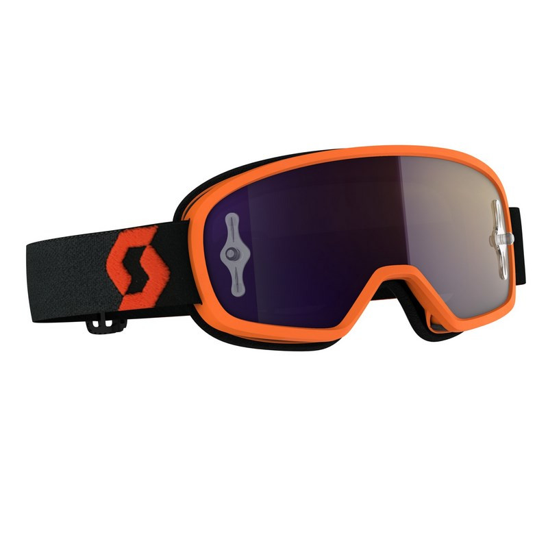 Masque enfant scott buzz mx orange black purple chrome works sc272836 1008281