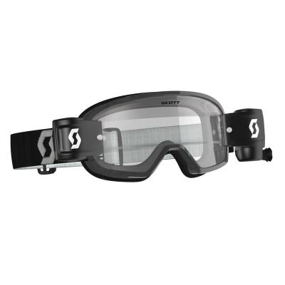 Masque enfant scott buzz mx wfs black grey clear works sc272837 1001113
