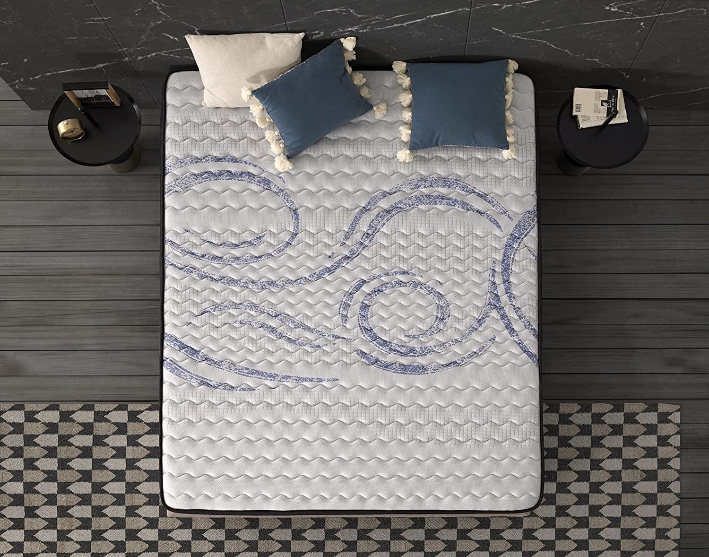 Matelas naturalex blue latex multi densite 3