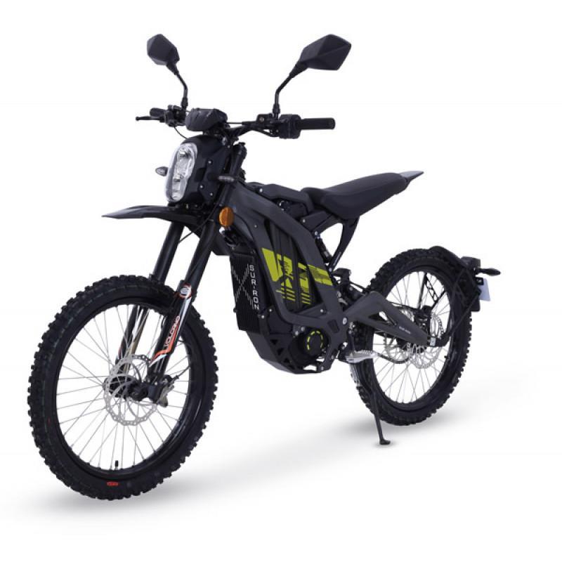 Moto electrique sur ron light bee noir 1