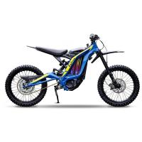Moto electrique sur ron youth enfant bleu