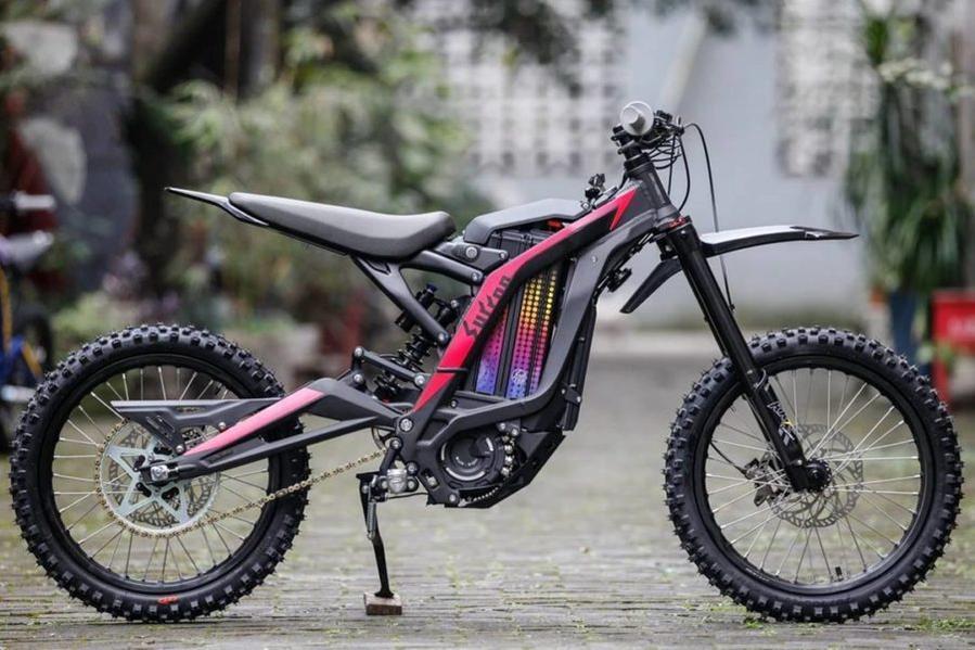 Moto electrique sur ron youth enfant 5