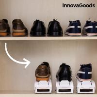 Organizador de zapatos regulable shoe rack innovagoods 6 pares