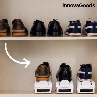 Organizador de zapatos regulable shoe rack innovagoods 6 pares