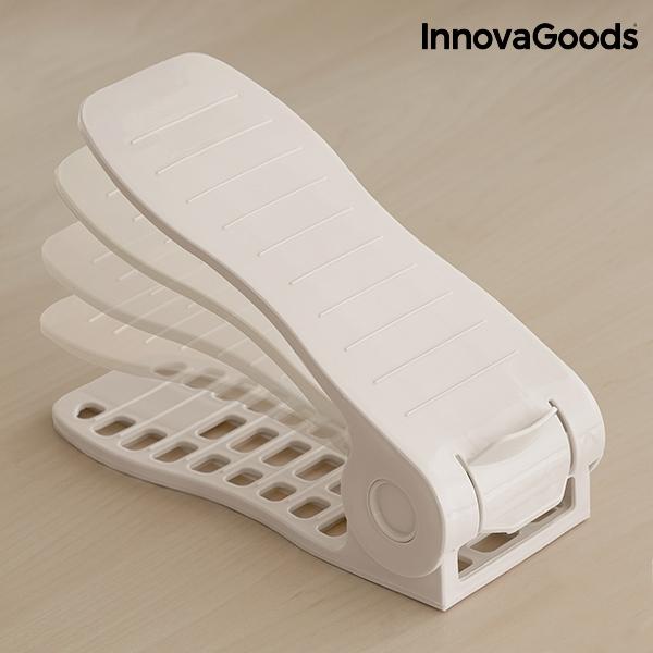 Organizador de zapatos regulable shoe rack innovagoods 6 pares3