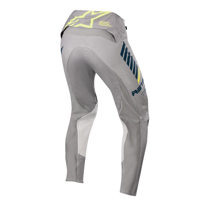 Pantalon alpinestars supertech grey navy yellow fluo al3720720 9705b