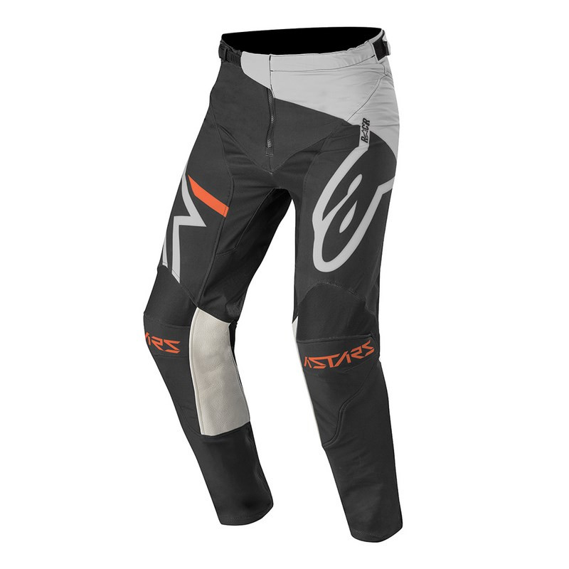 Pantalon enfants alpinestars racer compass light gray black al3742120 9210