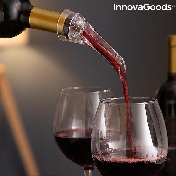 Set de accesorios para vino servin innovagoods 5 piezas 102422 1