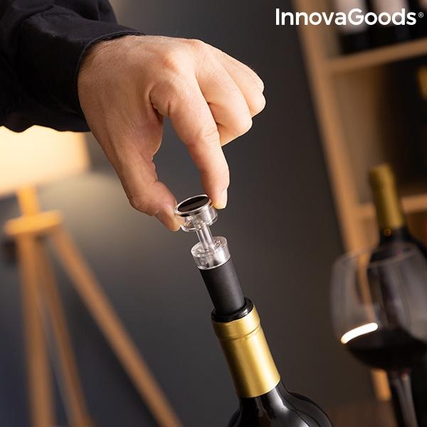 Set de accesorios para vino servin innovagoods 5 piezas 102422 3