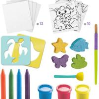 Super green kit 3 activites bio coloriage tampons peinture 2