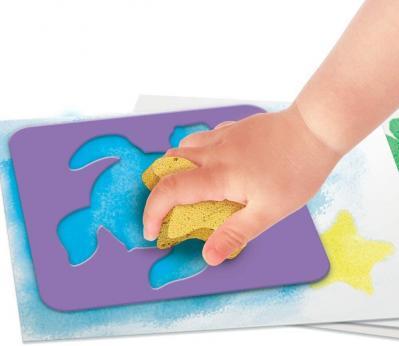 Super green kit 3 activites bio coloriage tampons peinture 3