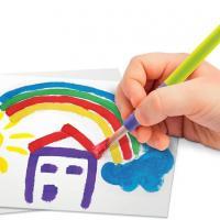 Super green kit 3 activites bio coloriage tampons peinture 4