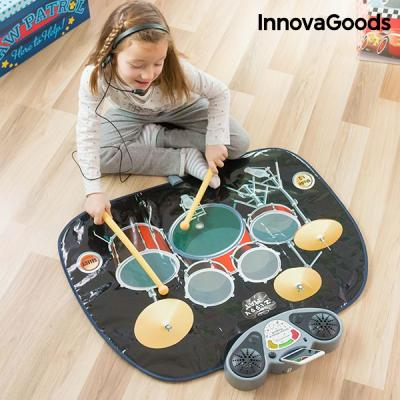 Tapis batterie musicale innovagoods1