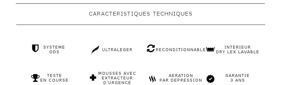 Tech specs fr