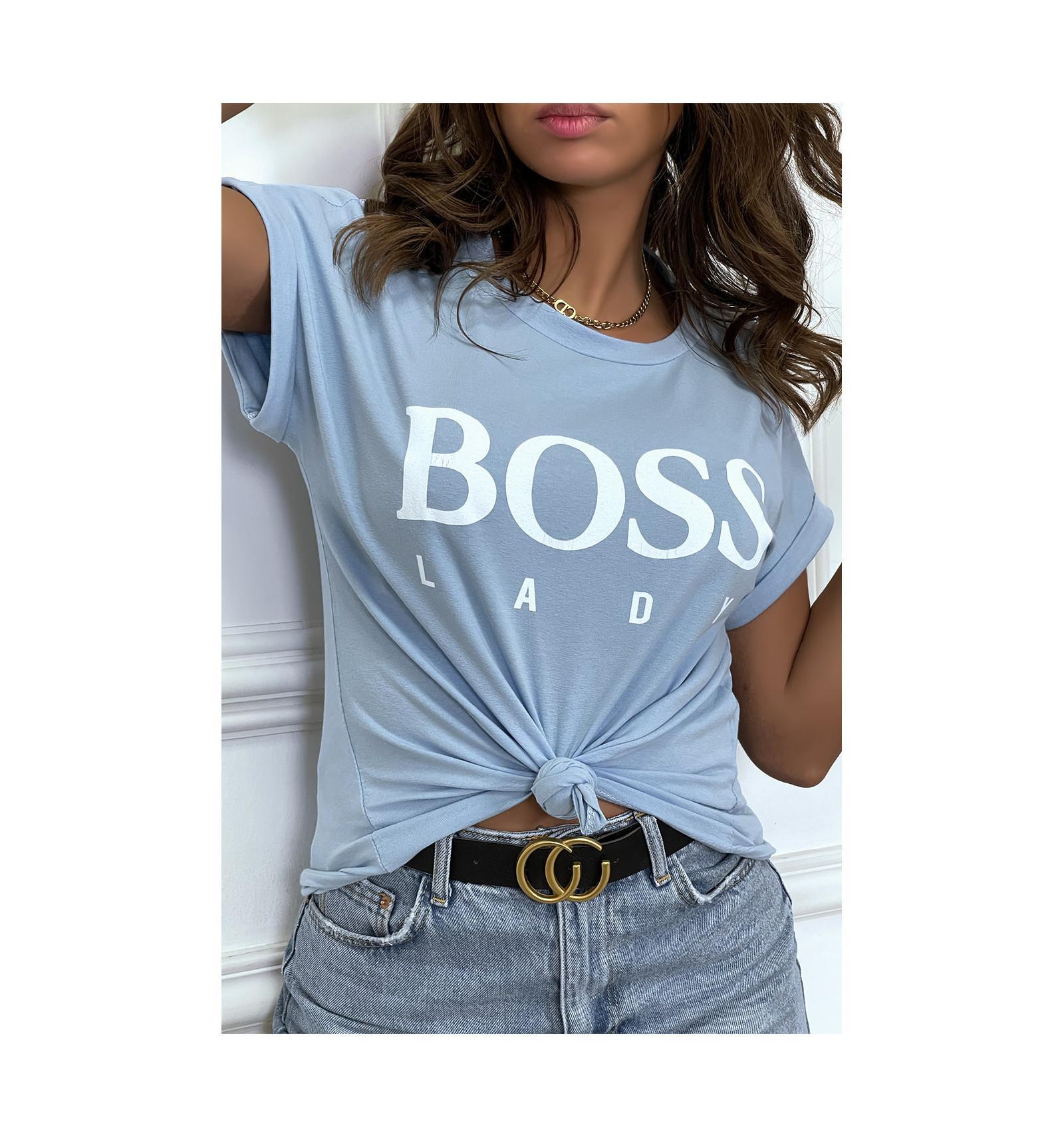 Tee shirt boss lady 4