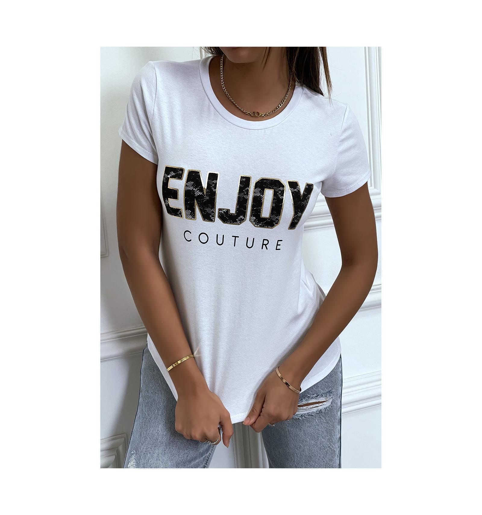 Tee shirt enjoy 2