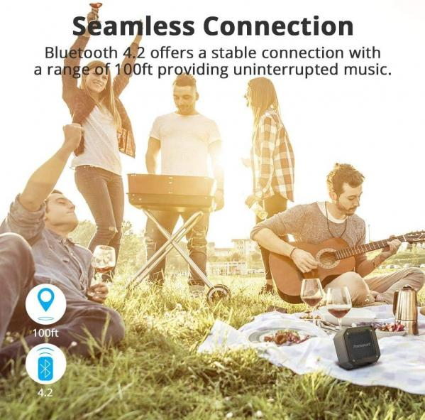 Tronsmart groove enceintes portable bluetooth 12w haut parleur bluetooth 5 0 4